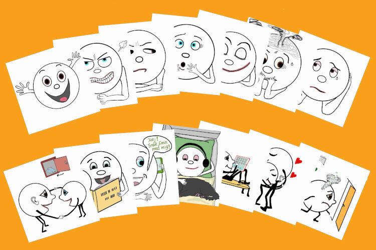 Samtalekort forsideikon